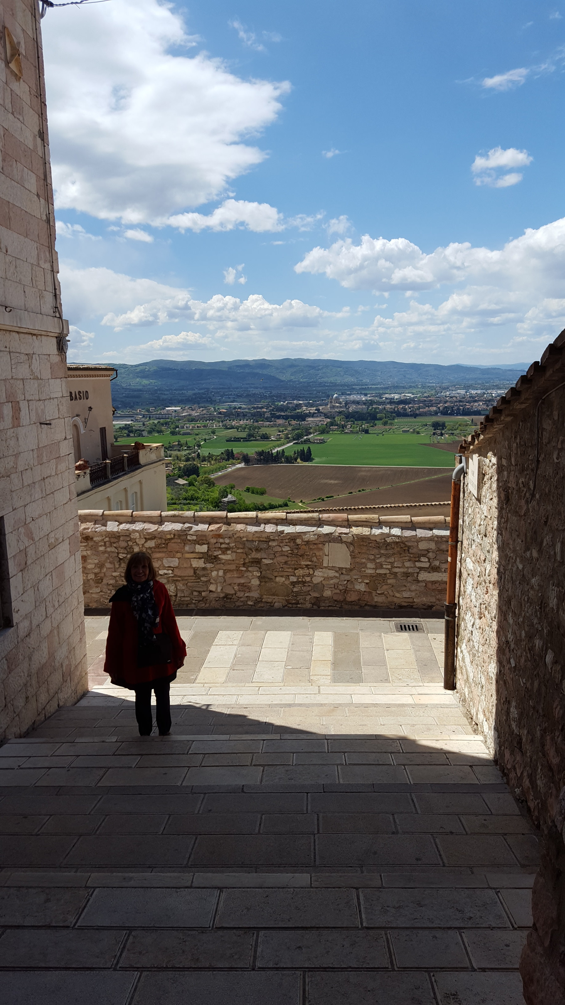 Assisi, Italy april 2017